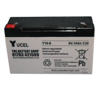 Y10-6 Yuasa Yucel 6v 10Ah Lead Acid Battery From £10.83 EX VAT Buy Online from The Battery Shop